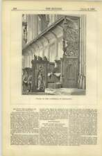 1872 Stalls In The Cathedral Of Bois-le-duc