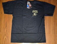 Men's Comfort Colors Image One Colorado Buffaloes Shirt Size Large Black *NEW*
