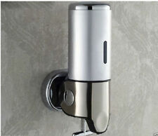 500ML Touch Soap Box Wall Mounted Liquid Shampoo/ Soap Dispenser Stainless Steel