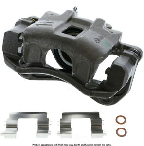 Disc Brake Caliper-Unloaded Caliper with bracket Front Right Cardone Reman