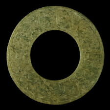 "ANCIENT CHINESE SHANG DYNASTY 2 3/8"" JADE BI"