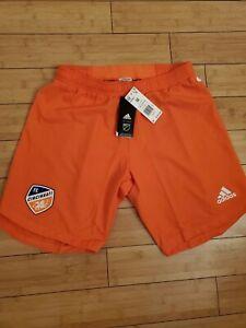 NEW Adidas Cincinnati FC Orange Soccer Shorts Mens Medium FM1662 $60 NEW RARE