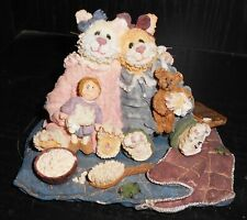 Vintage Boyds Bears Cat Figurine Cute Angel Design Nr