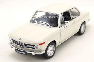 BMW 2002 Ti COUPÉ BLANC 1/24 WELLY