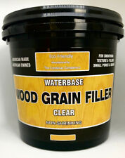 Crystalac Water Based Clear Wood Grain Filler - 1/2 Pint (8 oz) Free Ship!