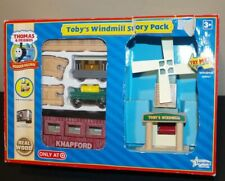 Thomas & Friends Wooden Railway Train Tank Engine NEW Toby's Windmill Story Pack