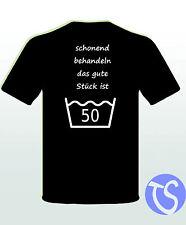 Funshirt 50. Geburtstag Schirftzug Lustig Geschenk Spruchshirt 40 50 60