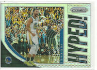 2019-20 Panini Prizm Get Hyped! Silver Stephen Curry #4