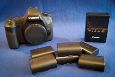 Canon EOS 6D 20.2MP (Body Only) 6 Batteries, Approximately 20k shutter count