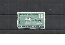 Französiche Zone, Württemberg, 1949 Michelnr: 49 **, postfrisch, Katalogwert € 8