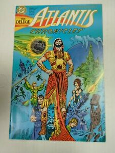 DC ATLANTIS CHRONICLES #1 (1990) Albart, Cora, Orin, Peter David, Esteban Maroto