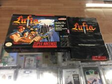 Lufia I - Fortress Of Doom - SNES - Super Nintendo - Box and Manual Only