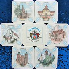 Bierdeckel Serie Ingolstadt Nordbräu Oberhaunstadt - Historische Stadtmotive