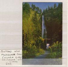 POSTCARD, USED MULTNOMAH FALLS COLUMBIA GORGE CALIFORNIA USA cc 1970s  6X13
