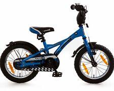 Kinderfahrrad 14 Zoll Rücktritt Fahrrad Kinder ab 3 Jahre Junge Kinderrad Blau 4