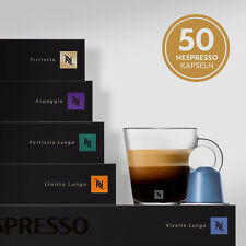 Nespresso Kaffeekapseln Selektion 5 Stangen Kaffee 50 Kapseln Mix