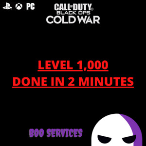 CALL OF DUTY COLD WAR - LEVEL 1,000 - MODDED LOBBY