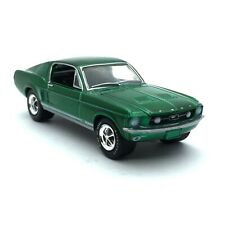 Greenlight Classic 1967 67 Ford Mustang GT Car Green Die Cast 1/64 Scale Loose