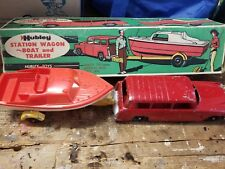 hubley station wagon boat and trailer