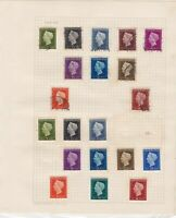 netherlands stamps page ref 17034