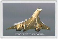 CONCORDE - JUMBO FRIDGE MAGNET - AVIATION FLYING AEROPLANE PLANE TRAVEL AIR