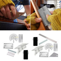 Guitar Luthier Tools Kit String Action Ruler Gauge Feeler Gauge