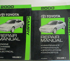 2000 TOYOTA CAMRY Service Shop Repair Workshop Manual Set FACTORY OEM