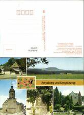369739,Annaberg-Buchholz u. Umgebung Kirche Brunnen Schloss Mehrbildkarte
