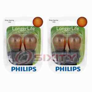 2 pc Philips Front Turn Signal Light Bulbs for Jeep Compass Liberty Patriot pg