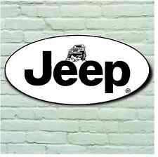 JEEP 4X4 OFF ROAD LARGE 2FT GARAGE WALL SIGN BADGE CHEROKEE RENEGADE WRANGLER