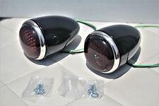1937 Ford Passenger Car Rear Tail Light Lamp Housing Assemblies Right Hand