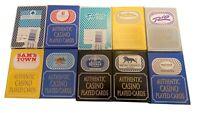 20 RANDOM LAS VEGAS CASINO POKER PLAYING CARDS