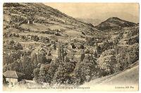 CPA 38 Isère Allevard-les-Bains Vue générale prise de la Châtaigneraie