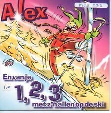 (882F) Alex, En van je 1 2 3 met z'n allen op de ski CD