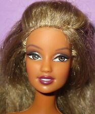 Barbie Fashion Fever Teresa Hispanic Hair Highlights Mattel Doll OOAK Play HTF