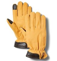 Timberland Men's Fleece Lined Wheat Leather Gloves
