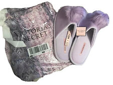 Victoria's Secret The Sexy Cozy Pajama Pant Med W/ Pockets & Fluffy Slippers  M