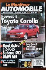 Le moniteur Automobile 20/8/1992; Toyota Corolla/ Jeep Grand Cherokee/ Mercedes