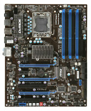 MSI x58 pro-e ms-7522 Intel x58 placa base ATX zócalo LGA 1366