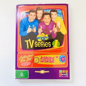 The Wiggles TV Series 1 2005 Complete Season One PAL Region 4 RARE