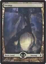 TCG MtG 168 Magic the Gathering Zendikar Full Art Land  Swamp/Sumpf