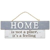 Home Sentiment Gift Vintage Style Rustic Wood Plaque 270452