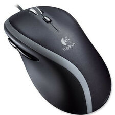 Maus Logitech Corded Mouse M500 USB, schwarz refresh für PC/Notebook