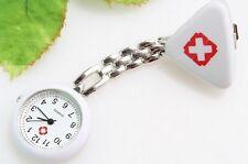 Montre Pendentif Infirmiere blanche  Neuf avec Pile nurse watche white