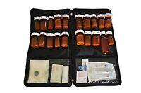 Portable Lockable medication bag with Free Pill box organizer by Razbag