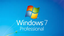 Windows 7 Professional 64-BIT w/SP1 Restore, new Install & Recovery DVD