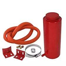 Engine Coolant Radiator Reservoir Pressure Tank Cooling Can Red 800ml Cylinder