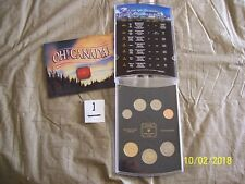 2002 CANADA OH! CANADA! UNCIRCULATED 10 COIN SET