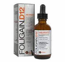 Foligain D12 Hair Growth Stimulator 12% Trichogen Dht Blocker 2oz 59ml