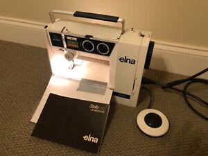 Swiss Made Elna Stella Tx Electronic Sewing Machine